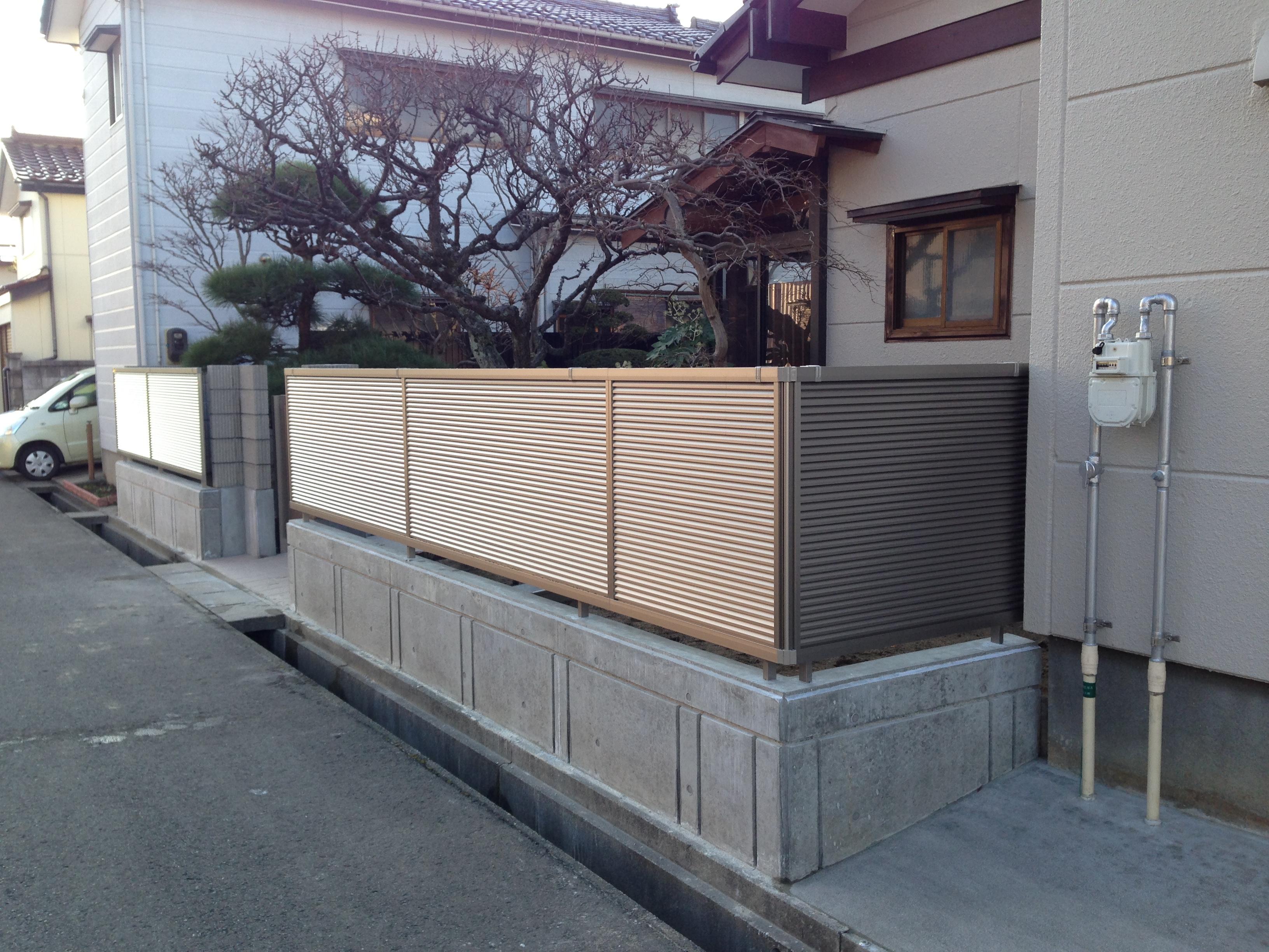 池田様邸 外構工事完成しました