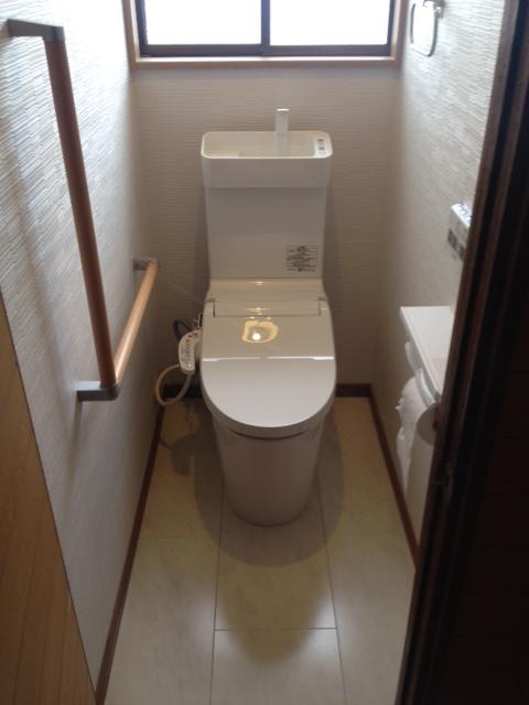 トイレ改装工事完了