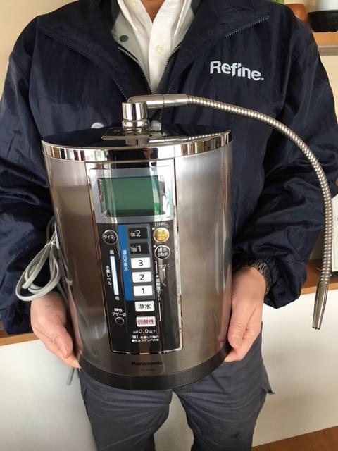Panasonicの還元水素水