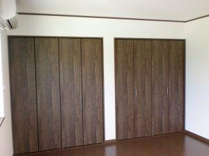 田島様邸_寝室収納