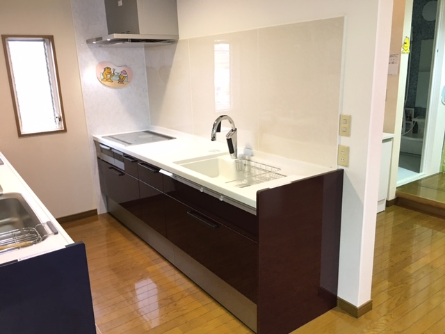 新キッチン設置完了